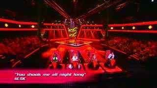 "Sara Silva - ""You shook me all night long"" | Provas Cegas | The Voice Portugal | Season 3"