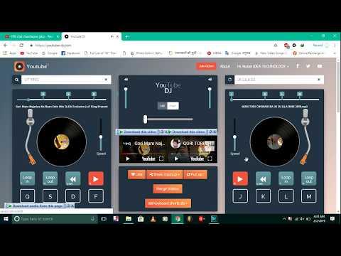 Youtube DJ is a free online Opreter  music mixer website