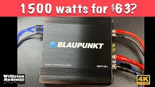 $60 Amazon Amp Making 1125 Watts? Let's Find Out...[4K]