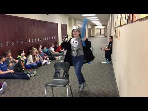 DMS 6th graders Jousting Preliminaries
