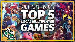 Top 5 Nintendo Switch Local Multiplayer Games - List and Overview + NINTENDO SWITCH GIVEAWAY!