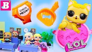 Куклы ЛОЛ Сюрприз В ШКОЛУ С ПИТОМЦЕМ ЛОЛ! Мультики LOL SURPRISE PETS Видео для Детей #Игрушки