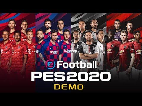 eFootball PES 2020 Demo Trailer