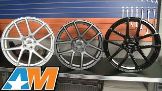 Mustang MMD Zeven Wheels - Charcoal, Gloss Black and Silver (2005+) Review