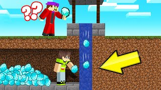 I STOLE My Friends DIAMONDS From Their WISHING WELL! (Minecraft Troll)