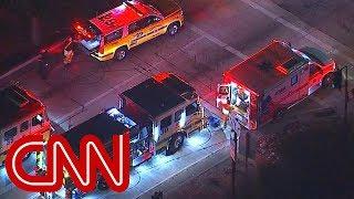 Video filmed inside Thousand Oaks bar during shooting