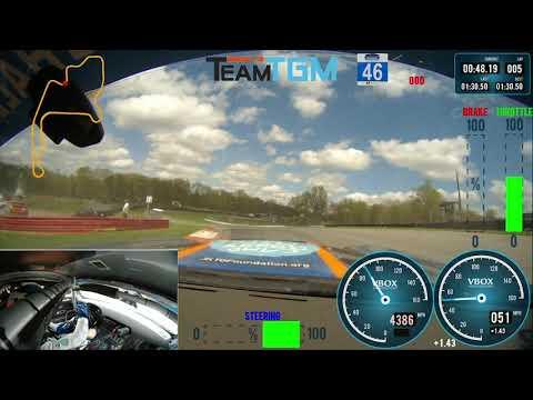 A Lap Around Mid-Ohio Sports Car Course - IMSA Michelin Pilot Challenge