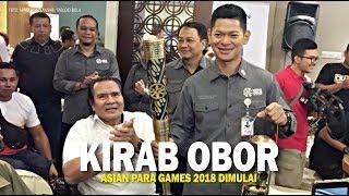 Warga Solo Sambut Kirab Obor Asian Para Games 2018 Hari Ini