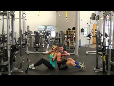 Exercises with a Partner: Medicine Ball Twist | Marzia Prince & Tim McComsey