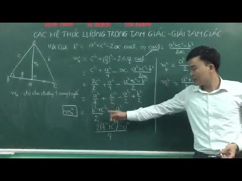 Hệ thức lượng trong tam giác vuông phần 1