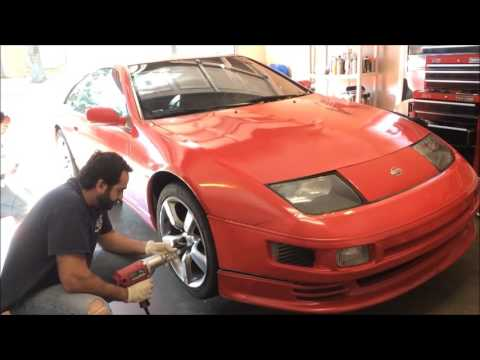 Fastest way to swap wheels on a 300zx
