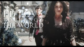 Давина Клэр, The Originals | I'd Love To Change The World