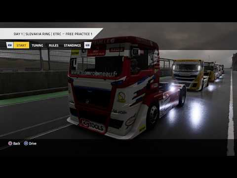 Truck Racing Championship - ETRC Round 4: Slovakia Ring, Day 1 Practice 1 * No Commentary Long Play