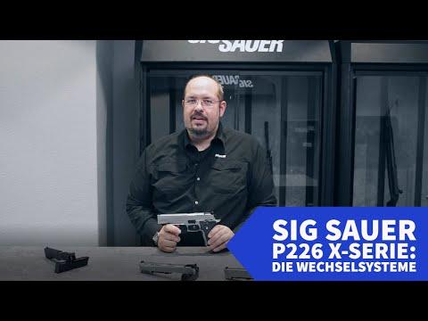 sig-sauer: Teil 1: Exklusive Videoserie zu den Pistolen der SIG Sauer P226 X-Serie. Sehen Sie hier alles Wissenswerte zu den modularen Wechselsystemen.