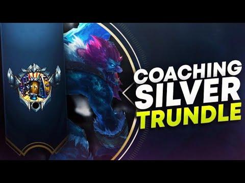 COACHING SILVER/GOLD TRUNDLE JUNGLE! | League of Legends