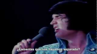 Are you lonesome tonight? (Sub Español) - Elvis Presley