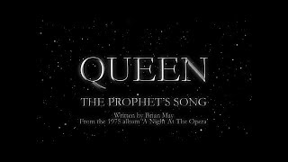 Queen - The Prophets Song (Official Lyric Video)
