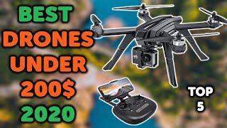 5 Best Drones Under 200 Dollars 2020 | Top 5 Budget Drones To Buy