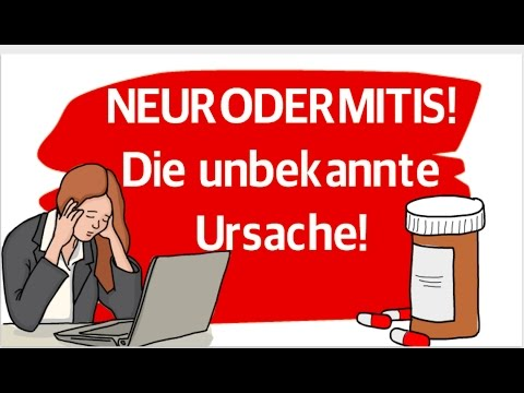 Die visuale Diagnostik atopitscheskogo der Hautentzündung