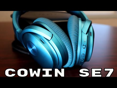COWIN E7 | Active Noise Cancelling Wireless Bluetooth Over-ear Headphones