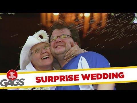 חתונה בהפתעה - מתיחה משעשעת!