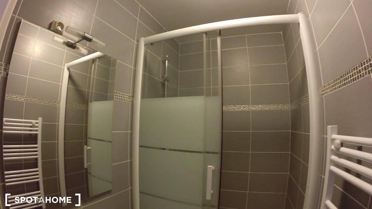 Chambres à louer dans un élégant appartement de 3 chambres à Gentilly