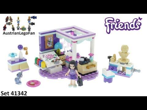 Vidéo LEGO Friends 41342 : La chambre d'Emma