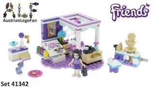 Lego Friends 41342 Emma´s Deluxe Bedroom - Lego Speed Build Review