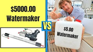 Why You Don't NEED A Watermaker To Live On The Hook! | ⛵ Sailing Britaly ⛵