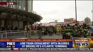Passenger describes LIRR accident in Brooklyn