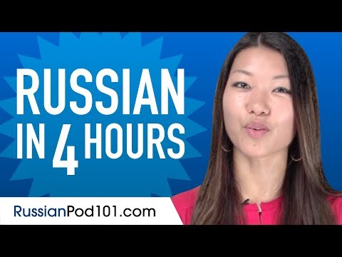Learn Russian in 4 Hours - ALL the Russian Basics You Need ...