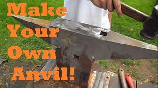 BLACKSMITHING - Making a Large Anvil