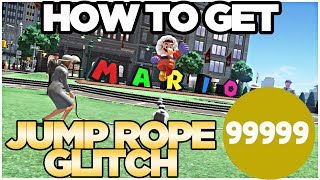How to Get 99999 Jump-Rope in Metro Kingdom Super Mario Odyssey | Austin John Plays