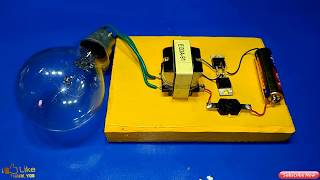 Download Video inverter 1 5v to 220v how to make inverter made to easy simple circuit new idea MP3 3GP MP4