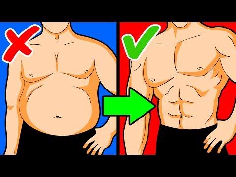 Transformations de perte de poids mâle