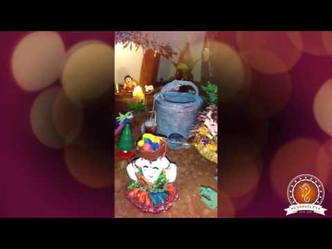 Bhavesh Dave Home Ganpati Decoration Video