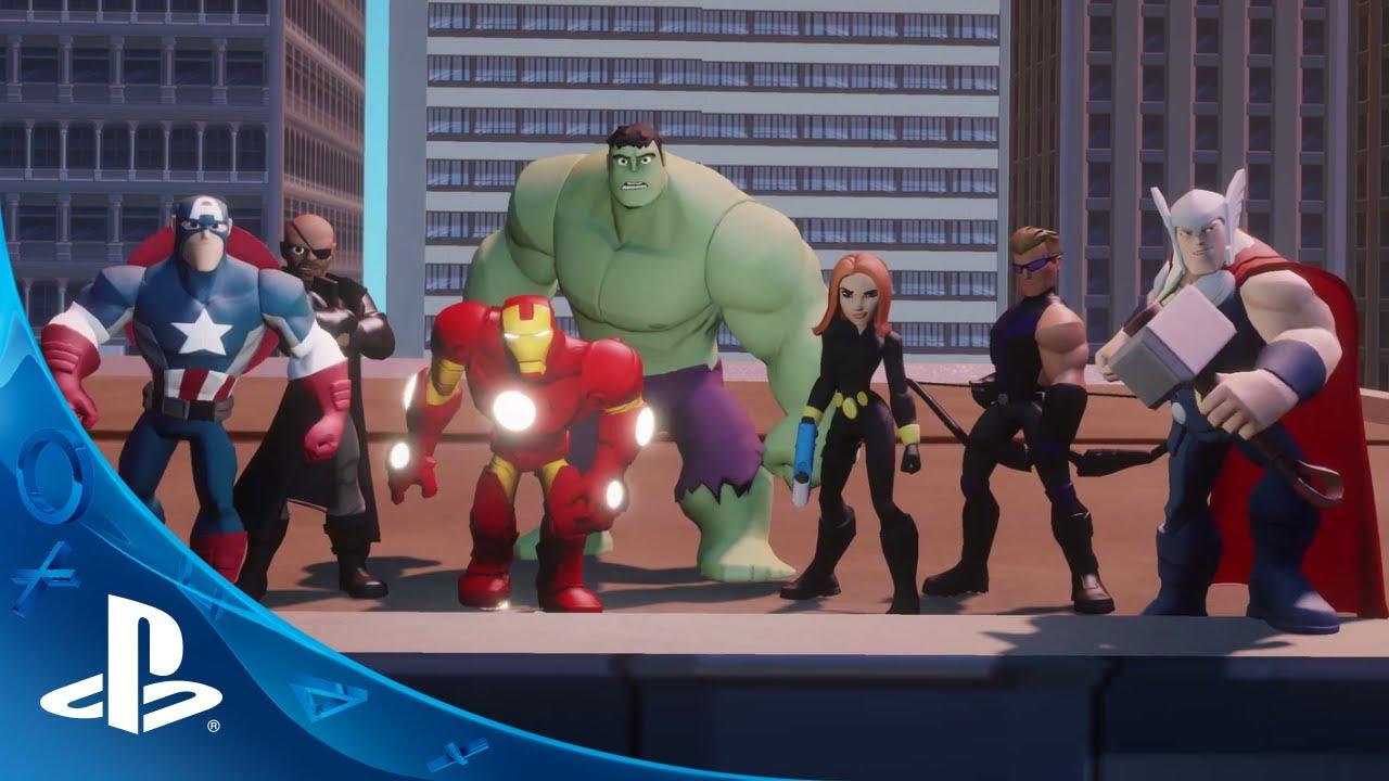 Disney Infinity Brings on the Super Heroes