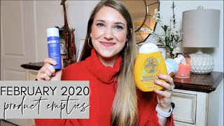 PRODUCT EMPTIES FEBRUARY 2020 | Declutter before the move! | THIS OR THAT