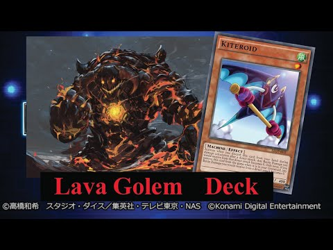 (Yu-Gi-Oh! Duel Links)รีวิว  Lava Golem เบื่อเมต้าอยากแก้ทางก็เล่นเด็คนี้เลย(EP.470)
