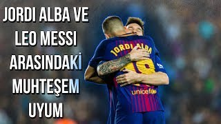 Lionel Messi & Jordi Alba Arasındaki Muhteşem Uyum • HD