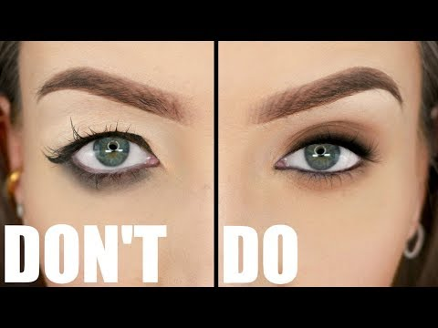 HOODED EYES DOS & DON'TS (Not Exaggerated) | Stephanie Lange
