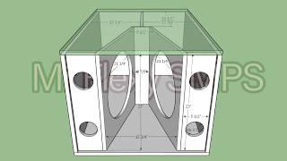 Box Plan] 18-inch Band Pass Subwoofer Box - MrFlexy SMPS