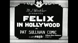 Felix The Cat In Hollywood - 1923 - Video Youtube