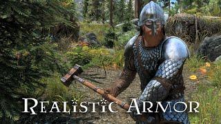 NordWarUA's Realistic Armor Replacers Skyrim SE Mod Showcase