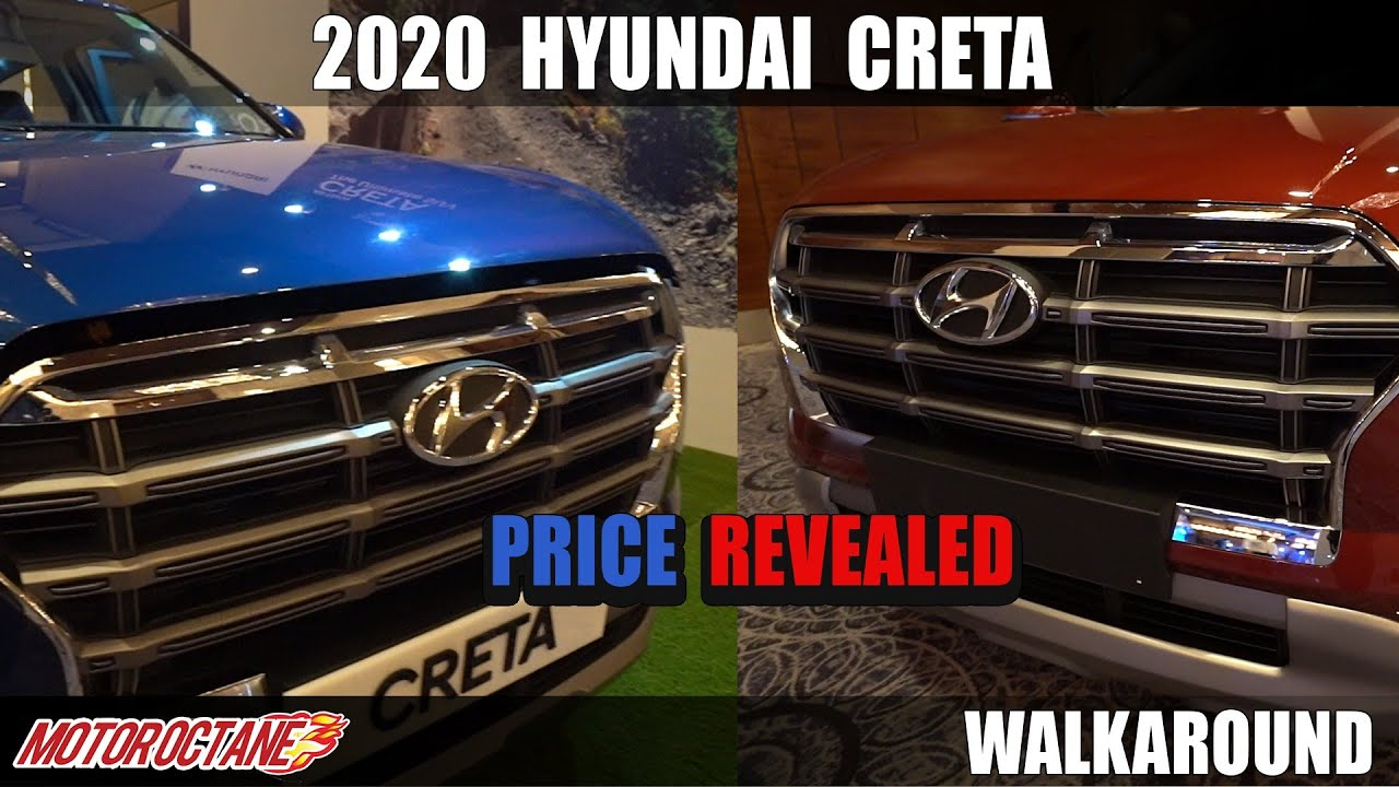 Motoroctane Youtube Video - 2020 Hyundai Creta Price and Variants | Hindi | MotorOctane