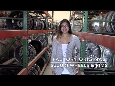 Factory Original Suzuki Wheels & Suzuki Rims – OriginalWheels.com