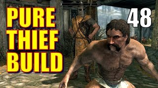 Skyrim Pure Thief Build Walkthrough Part 48: Blindsighted (or Pro Stealth Run with Dumb & Dumber)