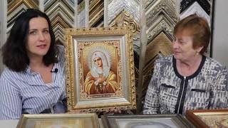 Вышивка: иконы Стоянки Ивановой и не только- рукодельница Ольга Шинкарева