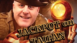 The Raja alternates between Double Diamond and the Taipan slot machine in