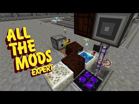 All The Mods Expert Mode - CAPACITOR AUTOMATION [E73] (Minecraft Expert Mod Pack)